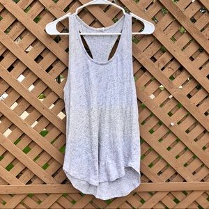 VS PINK | Gray Racerback Tank Top | Comfy Soft